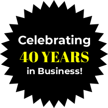 Celebrating 40 Years in Business!